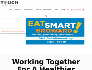 touchbroward.org screenshot