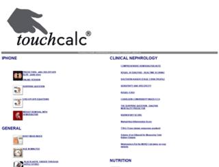 touchcalc.com screenshot