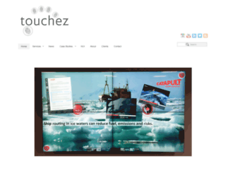 touchez.co.uk screenshot