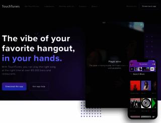 touchtunes.com screenshot