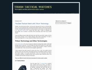 toughtacticalwatches.blogspot.com screenshot