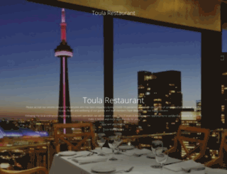 toularestaurant.com screenshot