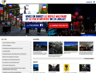 toulon.fr screenshot