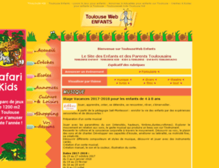 toulouse-enfant.com screenshot
