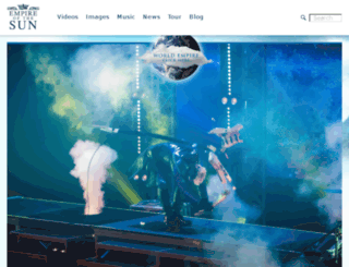 tour.empireofthesun.com screenshot