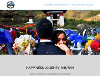 tourbhutantourism.com screenshot