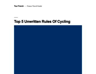 tourfrench.com screenshot