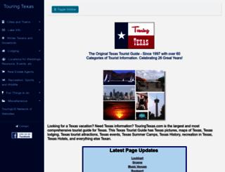touringtexas.com screenshot