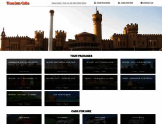 tourismcabs.com screenshot