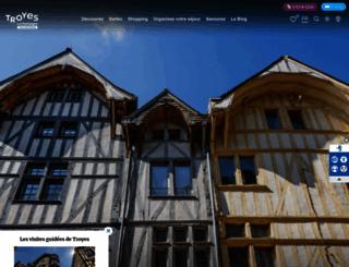tourisme-troyes.com screenshot