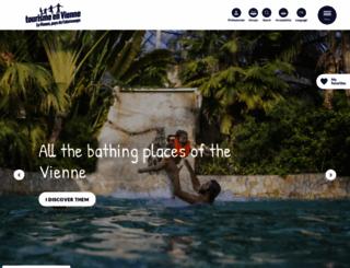 tourisme-vienne.com screenshot