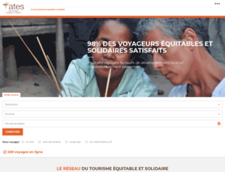 tourismesolidaire.org screenshot
