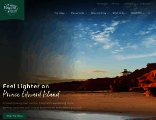 tourismpei.com screenshot