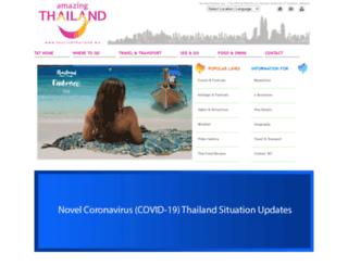 tourismthailand.my screenshot