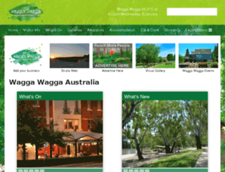 tourismwaggawagga.com.au screenshot