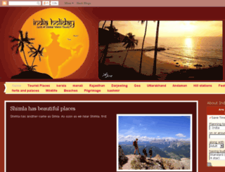 tourist-places.indiaholiday.org screenshot