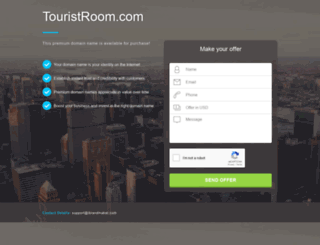 touristroom.com screenshot