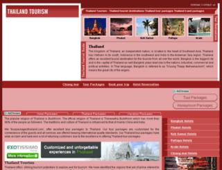 tourpackagesthailand.com screenshot