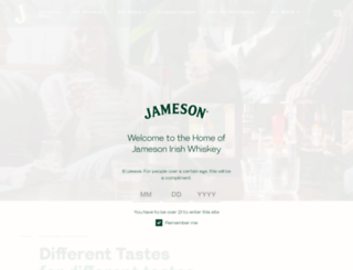tours.jamesonwhiskey.com screenshot