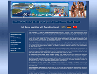 tourskohsamui.com screenshot
