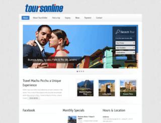 toursonline.info screenshot