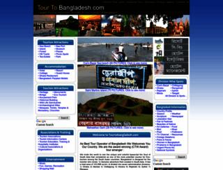 tourtobangladesh.com screenshot