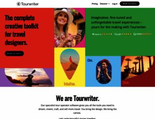 tourwriter.com screenshot