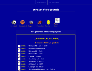 tous-sports.tv screenshot