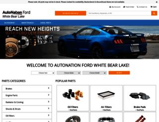 tousleyfordparts.com screenshot