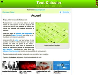 toutcalculer.com screenshot