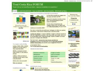 toutcostaricaforum.com screenshot