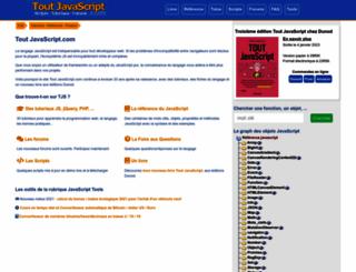toutjavascript.com screenshot