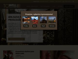 towell.cz screenshot