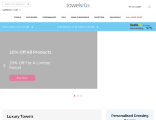 towelsrus.com screenshot