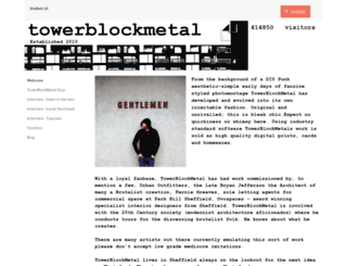 towerblockmetal.co.uk screenshot