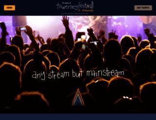 towerseyfestival.com screenshot