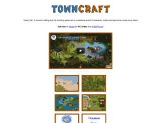towncraftgame.com screenshot