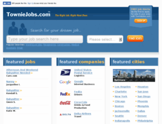 towniejobs.com screenshot