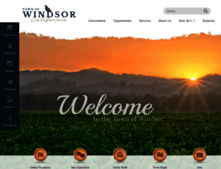 townofwindsor.com screenshot