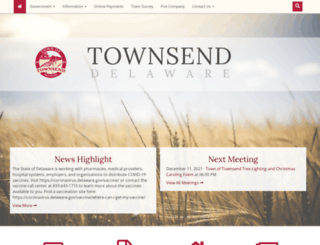 townsend.delaware.gov screenshot