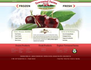 townsendfarms.com screenshot