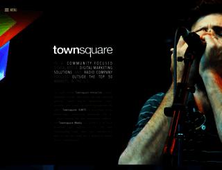 townsquaremedia.com screenshot