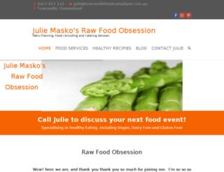 townsvillefoodconsultant.com.au screenshot