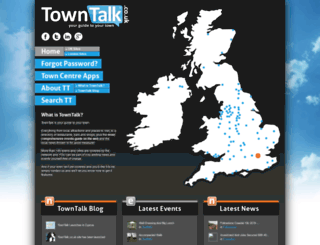 towntalk.co.uk screenshot