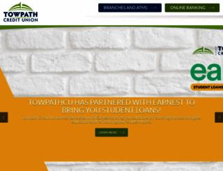 towpathcu.com screenshot