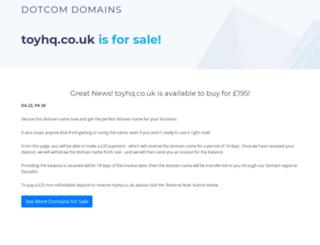 toyhq.co.uk screenshot