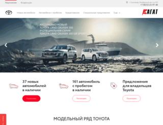 toyota-agat11.ru screenshot