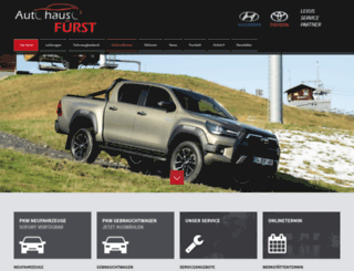toyota-fuerst.com screenshot