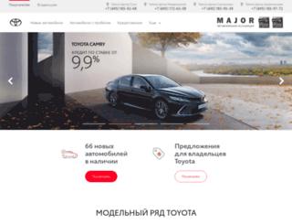 toyota-sokolniki.ru screenshot
