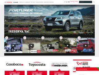 toyota.com.ec screenshot